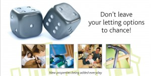 The Letting Company Dice advert for Landlord